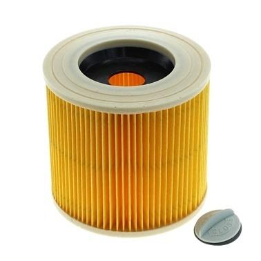 Karcher 6.414-552.0 WD 2 WD 3 Elektrikli Süpürge Kaset Filtre Renkli